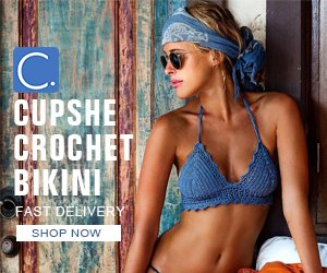 Cupshe Crochet bikini! Fast Delivery! Shop Now!