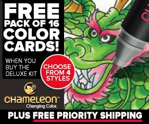 Chameleon Pens Free Color Cards Offer