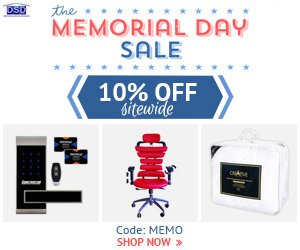 Memorial Day Sale. Use Code: MEMO at Checkout and Get 10% OFF Site Wide