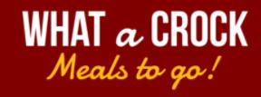 What a Crock Meals to Go Coupon code